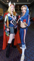 LadyCap and Thor