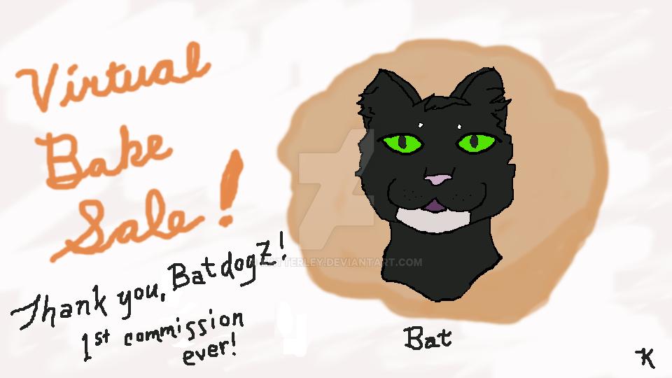 Bat cookie by katterley