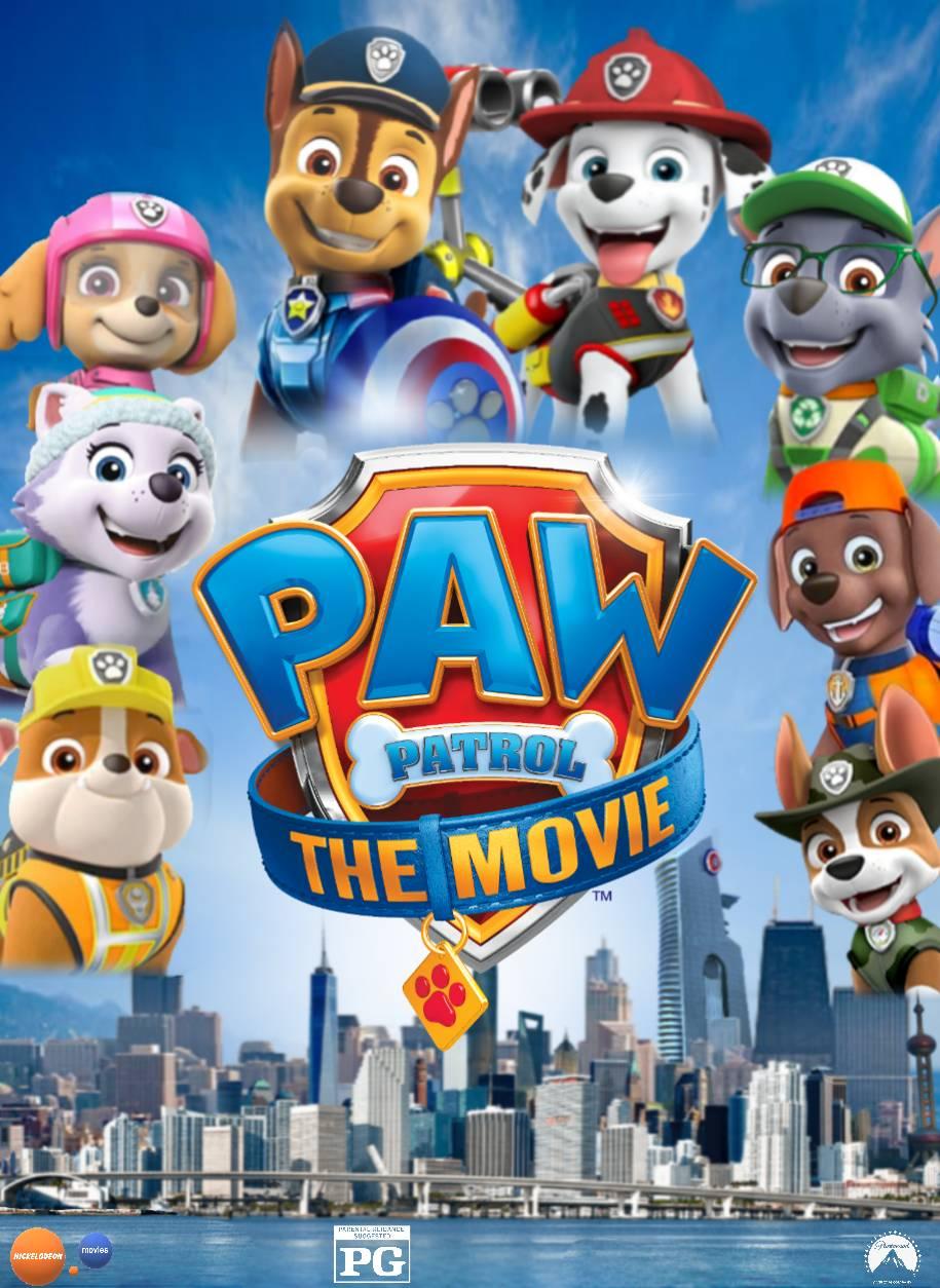 My PAW Patrol The Movie poster by OthaBland on DeviantArt