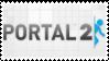 Portal 2 stamp