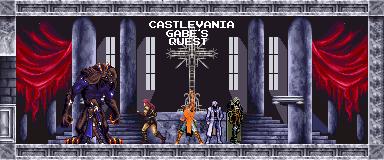 Castlevania: Gabe's Quest by DioJoestar0