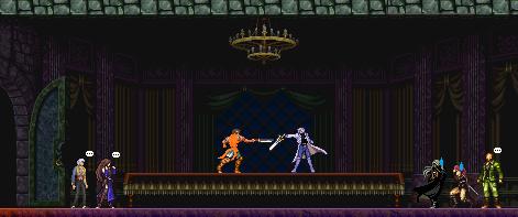 Castlevania: Gabe's Quest lightsaber fightsaber by DioJoestar0