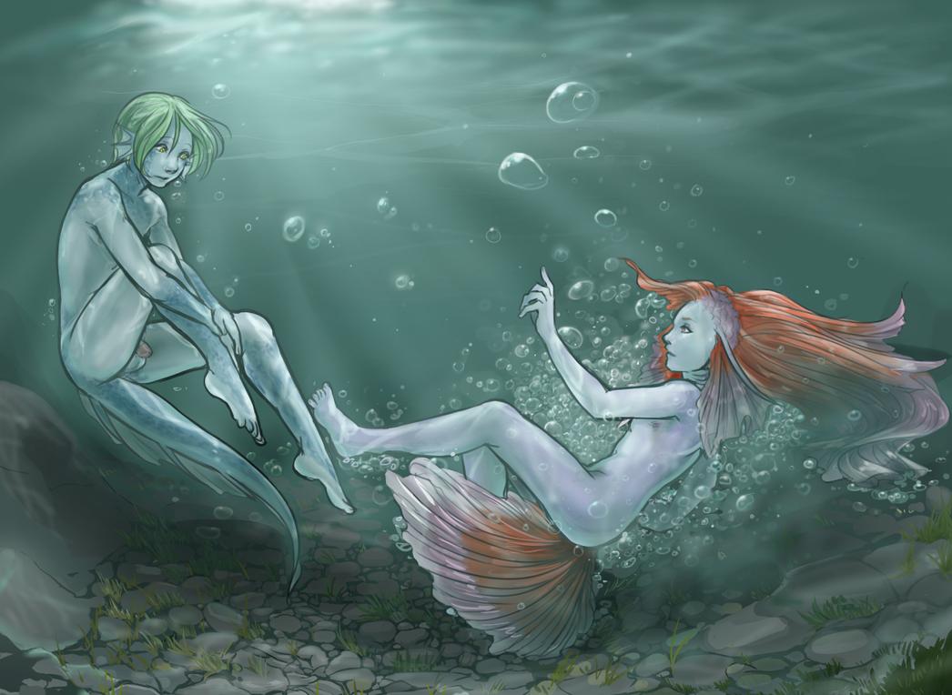Underwater Icebreaker by Shompu