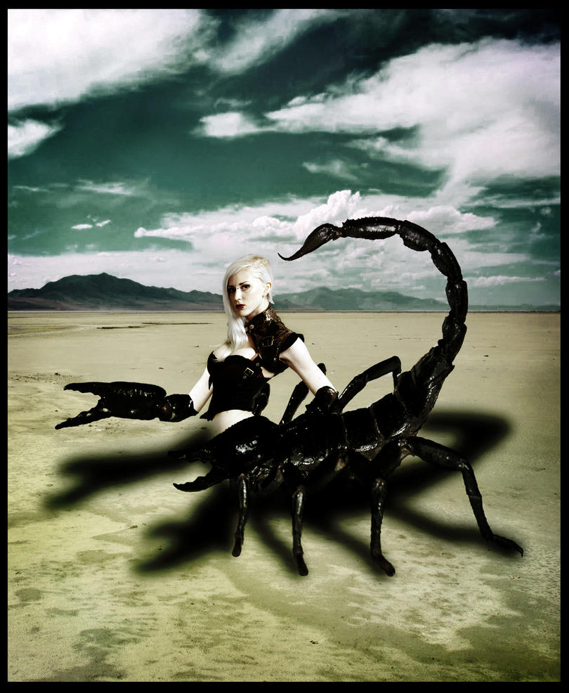 Scorpion Queen by CodeineCity