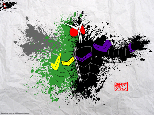 Kamen Rider W wallpaper by jazzmellon