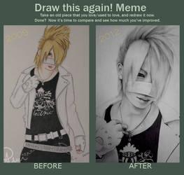 Draw this again meme: Reita