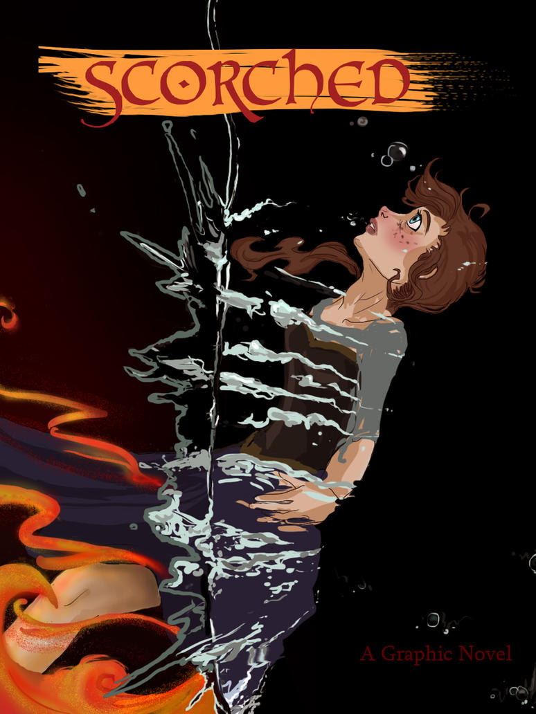 Book Cover Graphism Novels : Scorched frozen graphic novel cover by remainundefined