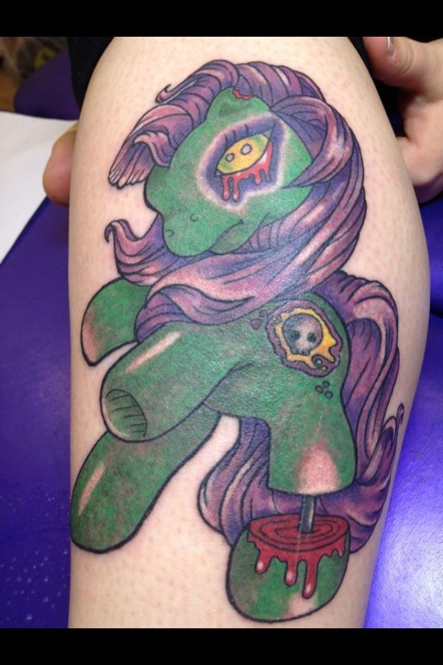 My 39 my little pony 39 tattoo by kill pretty people on deviantart for My little pony tattoo