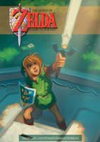 Zelda 29th Anniversary Tribute by AlexandreLeoniART