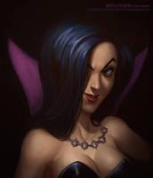 Battletoads - Dark Queen by AlexandreLeoniART