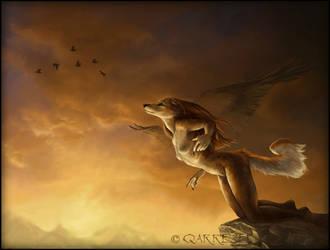 Dreams Of Flying by ShanziBeast
