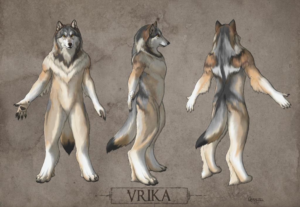 Vrika Character Reference by ShanziBeast