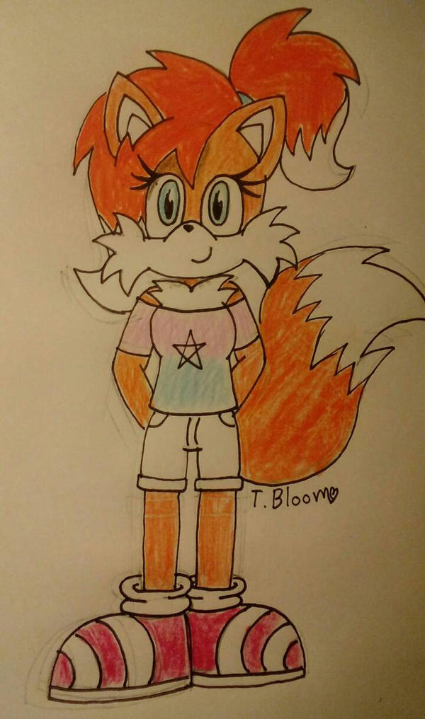 Vicky the Fox by ThunderBloom26