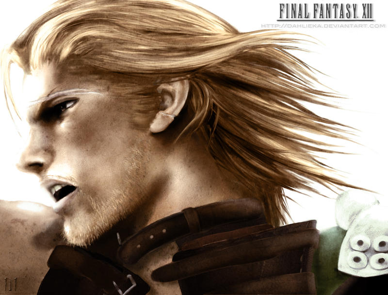 Basch & Fran dans Final Fantasy Basch___Final_Fantasy_XII_by_Dahlieka
