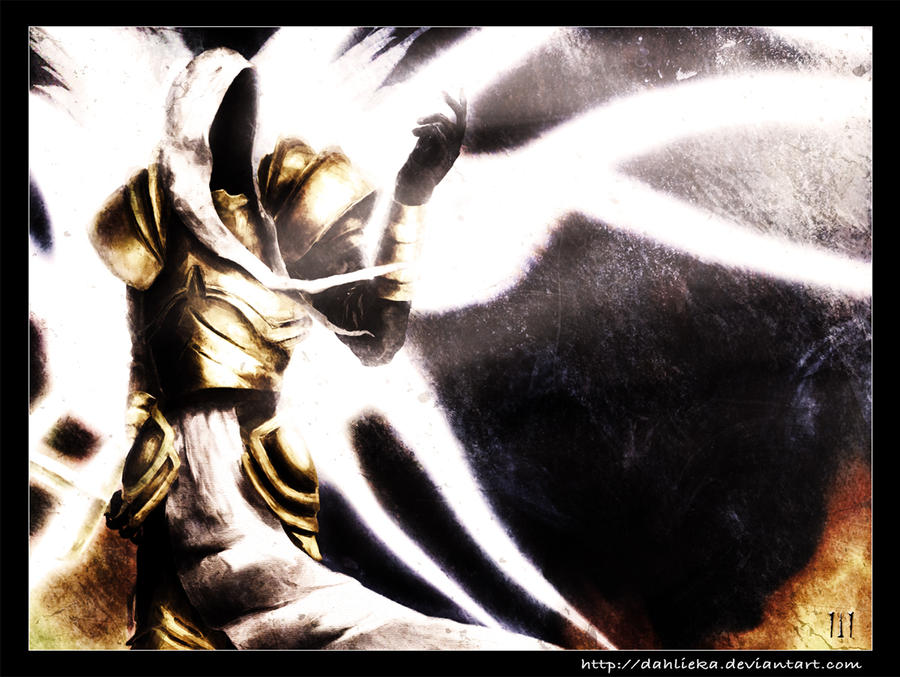 diablo 2 wallpapers. Archangel Tyrael - Diablo 2 by