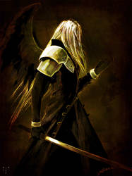 One Winged Angel by Dahlieka