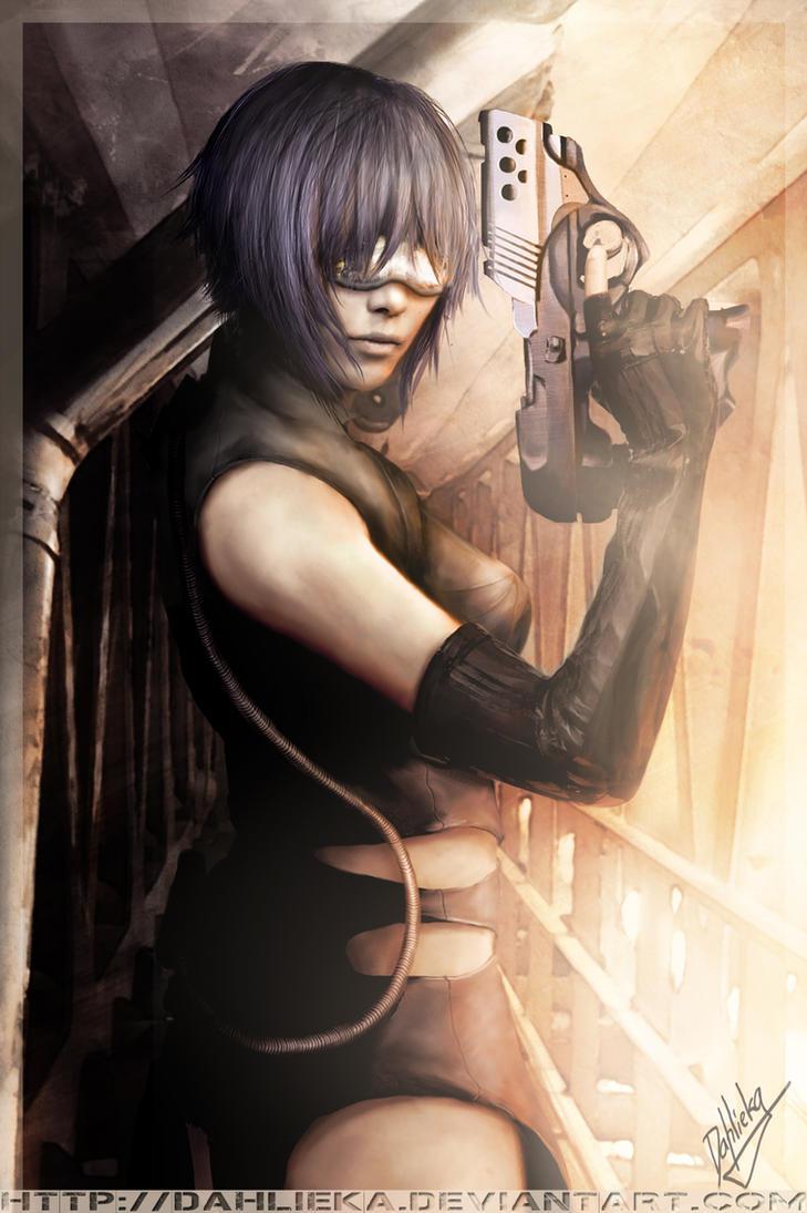 Major Motoko - GITS by Dahlieka
