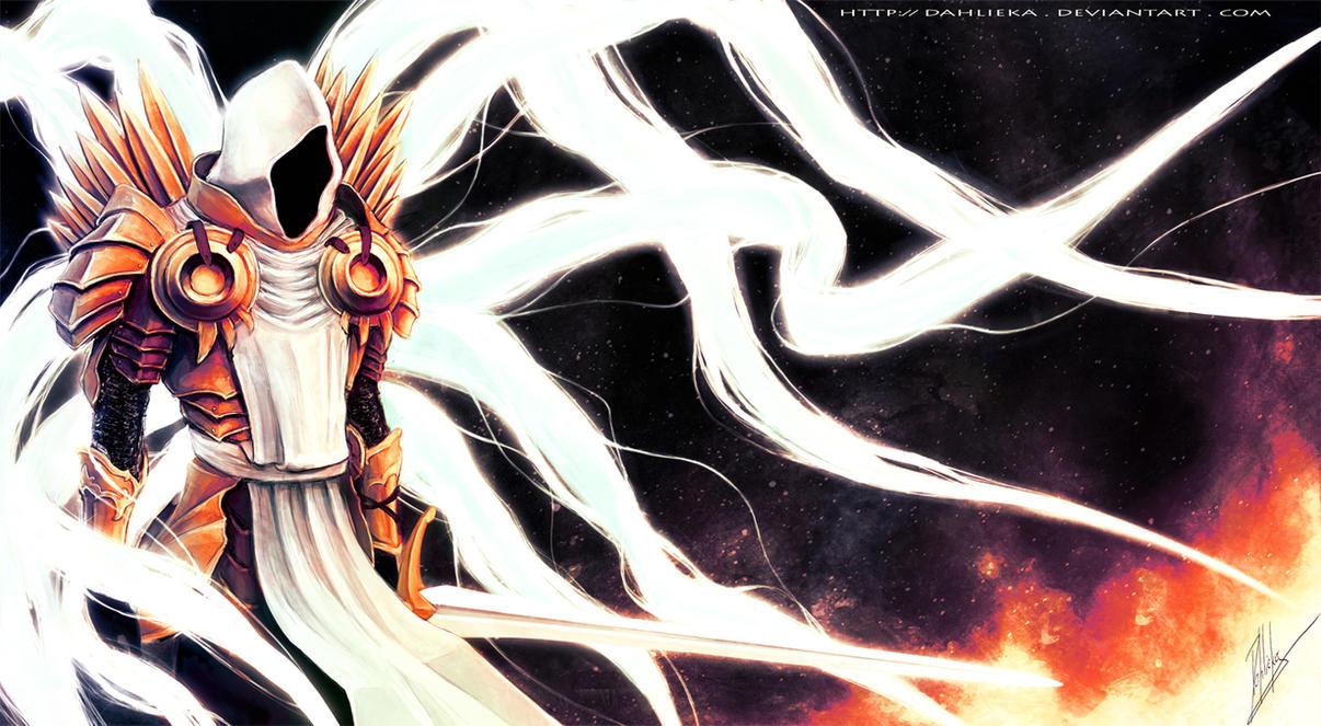 Archangel Tyrael - Diablo III by Dahlieka