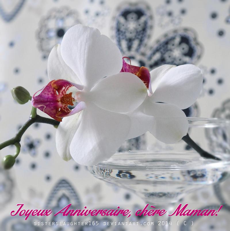 Joyeux Anniversaire Maman By Sisterslaughter165 On Deviantart