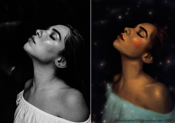 Dreamer... before - after by Sisterslaughter165