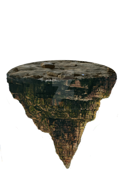 Floating Terrain png - 3