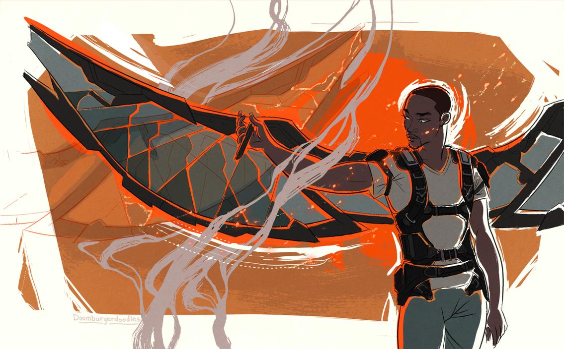 My Wingman by DumonchelleDraws