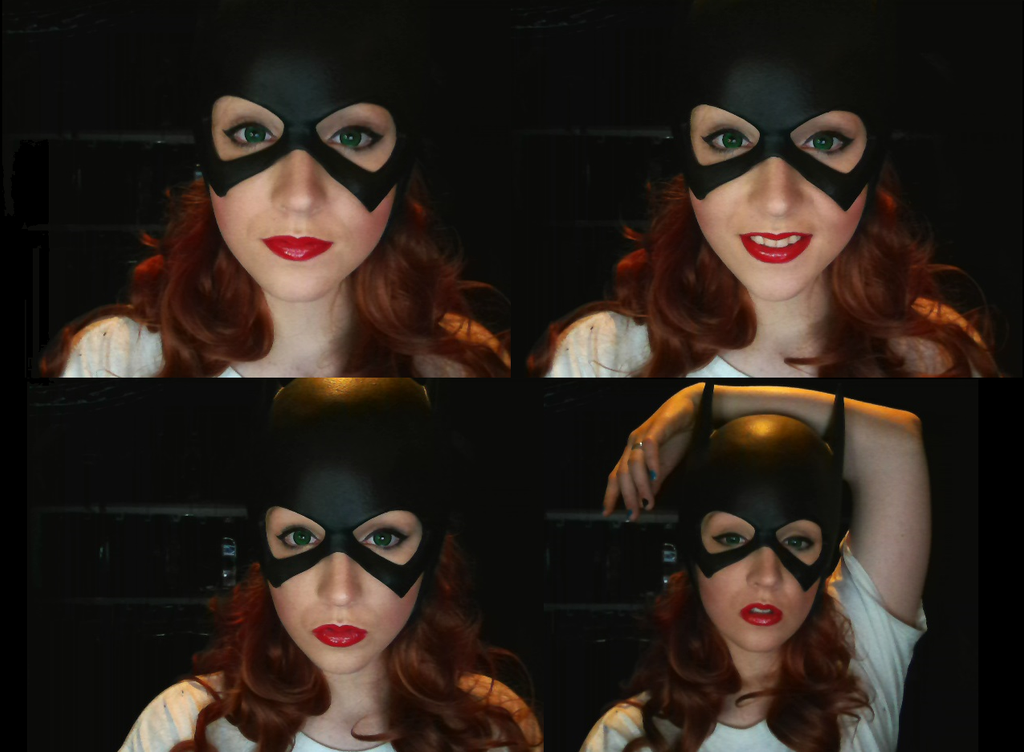 Barbara Gordon Batgirl-makeup test by stitchesandsongbirds on ...