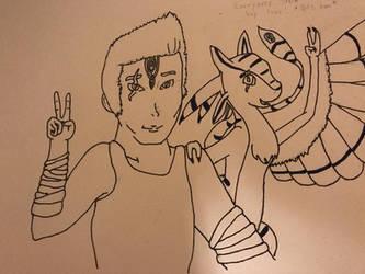 Jenkai and Scarlen by ShadenkaiLove