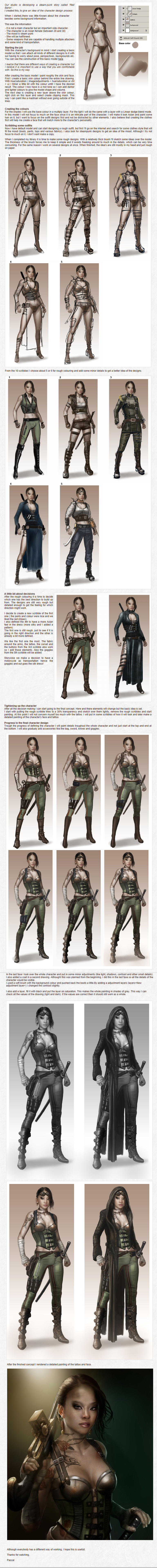 Character creation part 2