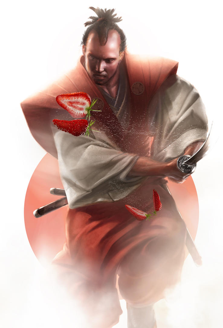 The strawberry samurai by PascaldeJong