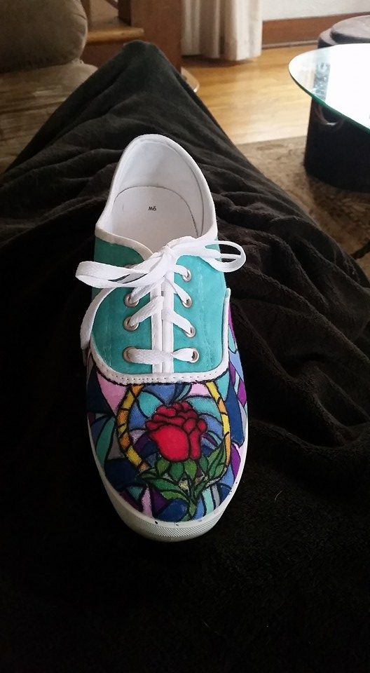 Beauty and The Beast Shoes by ktmadden