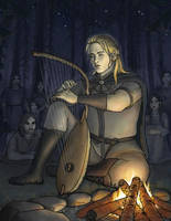 Finrod and the First Encounter with Men by Tatyafinwe