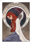 Porcelain, Ivory, Steel | Sansa Stark