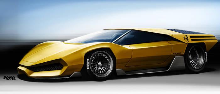 Abarth 2000 concept