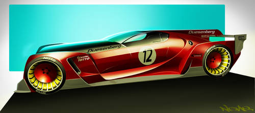 Duesenberg GT Vision