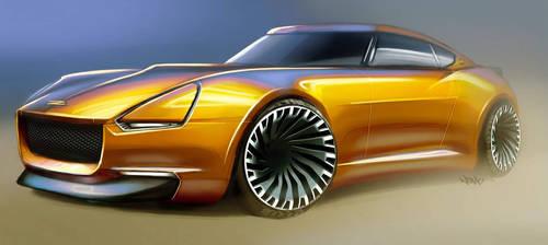 Z-car revival sketch