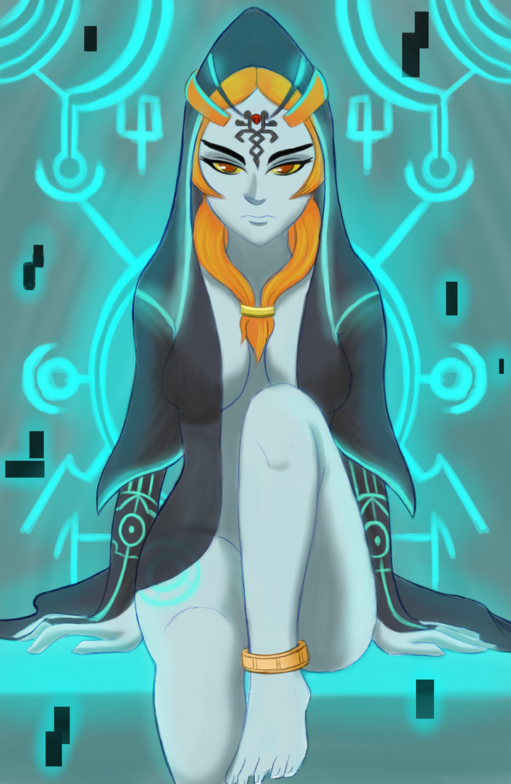 Midna by xDarkSpineSonicx