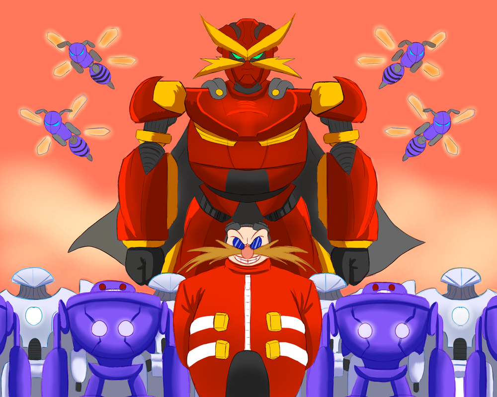 Eggman Army by xDarkSpineSonicx