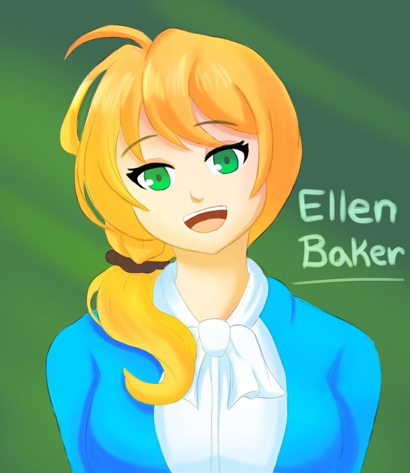 Ellen Baker by xDarkSpineSonicx