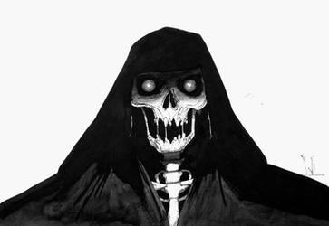 Hooded skull by siulziradnemra