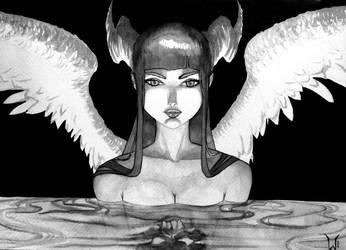 Fallen angel by siulziradnemra