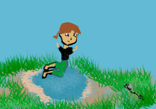 Jumping Over a Puddle - Day 15