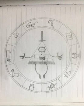 Bill Cipher Wheel