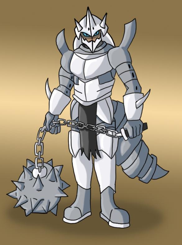 Gijinka Project: Mega Aggron by The-Dark-Fallen on DeviantArt