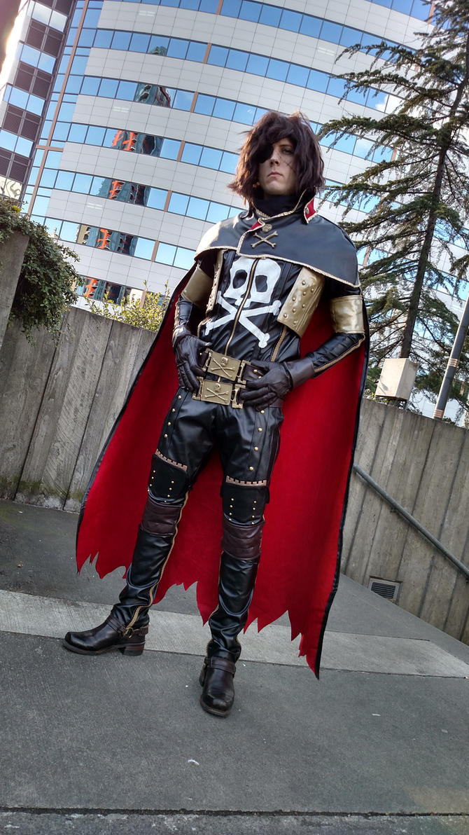 Harlock Cosplay Beta by No-Brand-Heroes