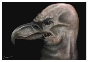 Monster Portrait 2 by larkie