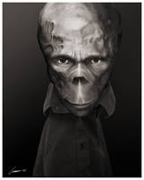 Creature Portrait 6 - study by larkie