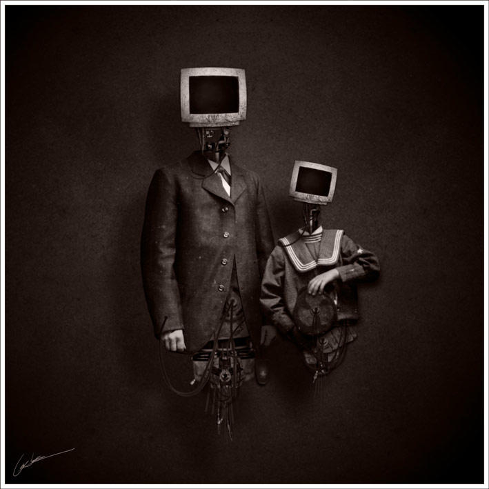 digital - manip by larkie