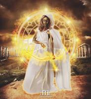Goddess of Light by LaercioMessias