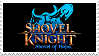 Shovel Knight: Shovel Of Hope stamp by recastanho